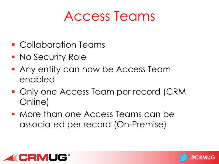 Access Teams
