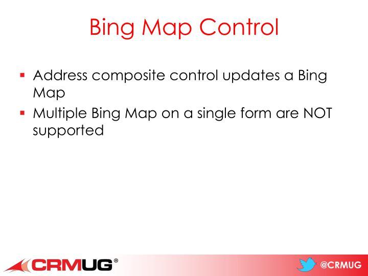 Bing Map Control