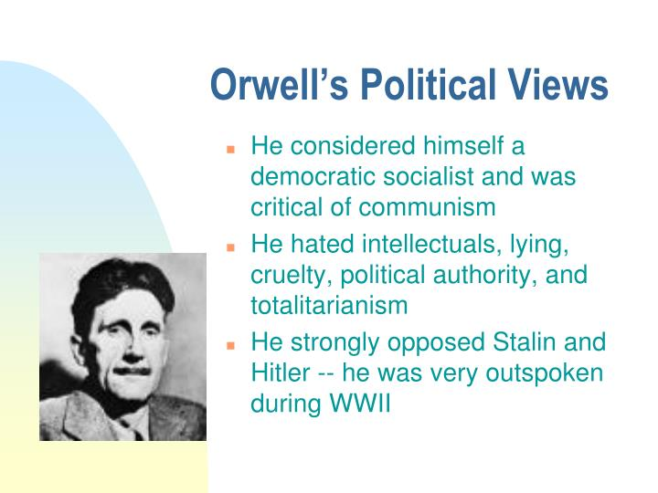 instability of totalitarianism in george orwell's Totalitarianism in orwells 1984 politics essay  george orwell's 1984 is about a man winston smith in a  totalitarianism is the form of government that .