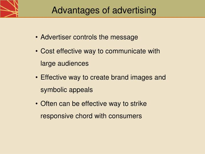 advantages of advertisement Online advertising is business for the modern world also known as online marketing or internet advertising, the potential for success is huge there are many strategies to learn and, while that in itself can prove to be pretty intimidating for a lot of people, the benefits of online advertising are.