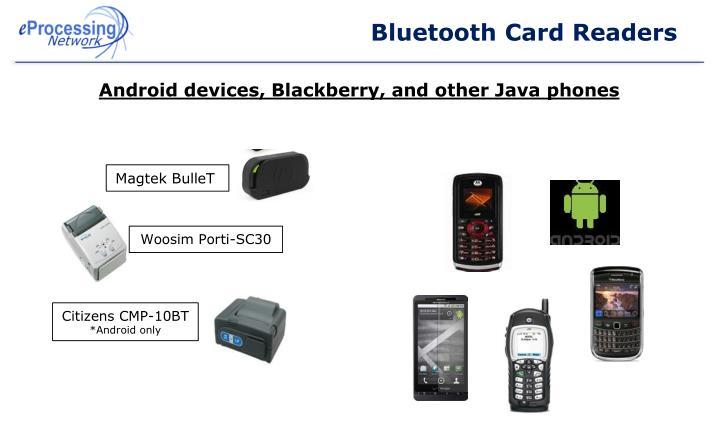 Bluetooth Card Readers
