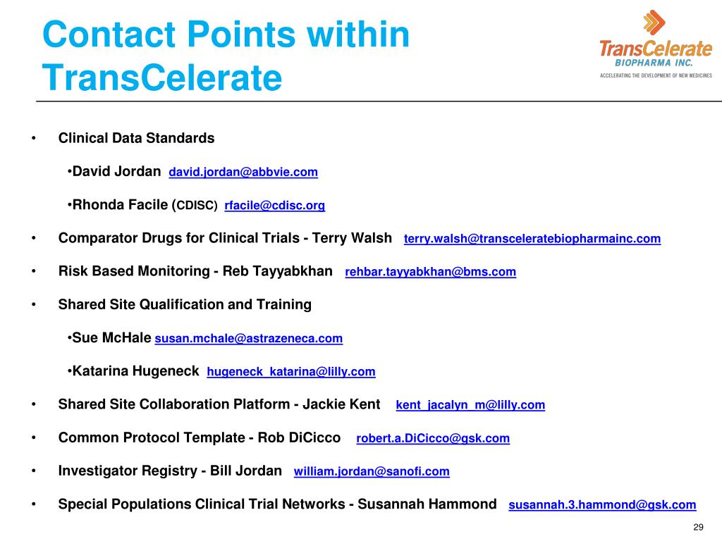 PPT - Pre-Competitive Collaboration in Clinical Trials March