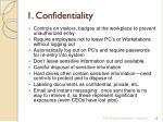 1 confidentiality4