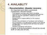 4 availability5