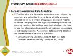 fy2014 upk grant reporting cont1