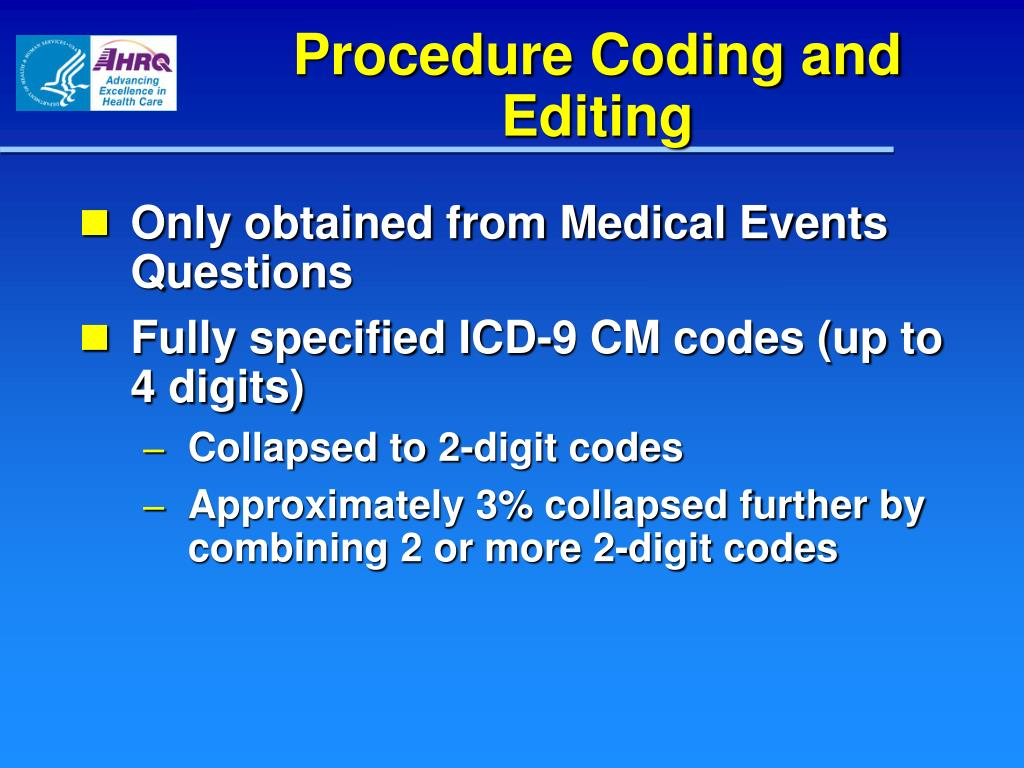 PPT - AHRQ 2010 Annual Conference AHRQ Data Resources to