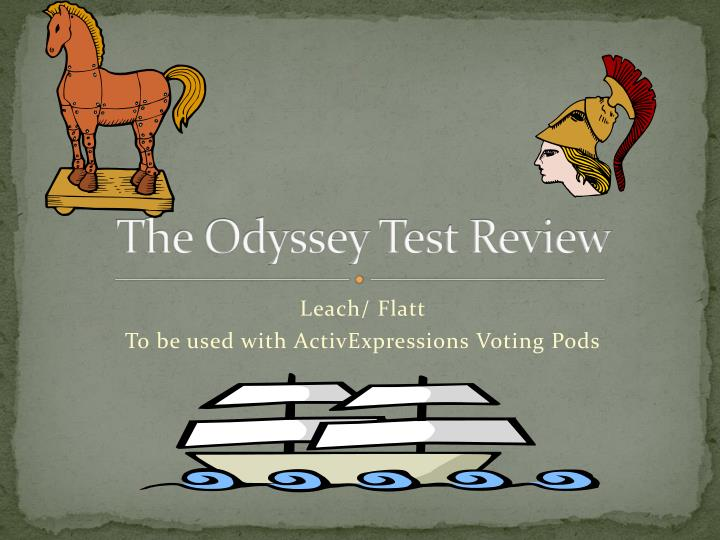 the odyssey test review n.