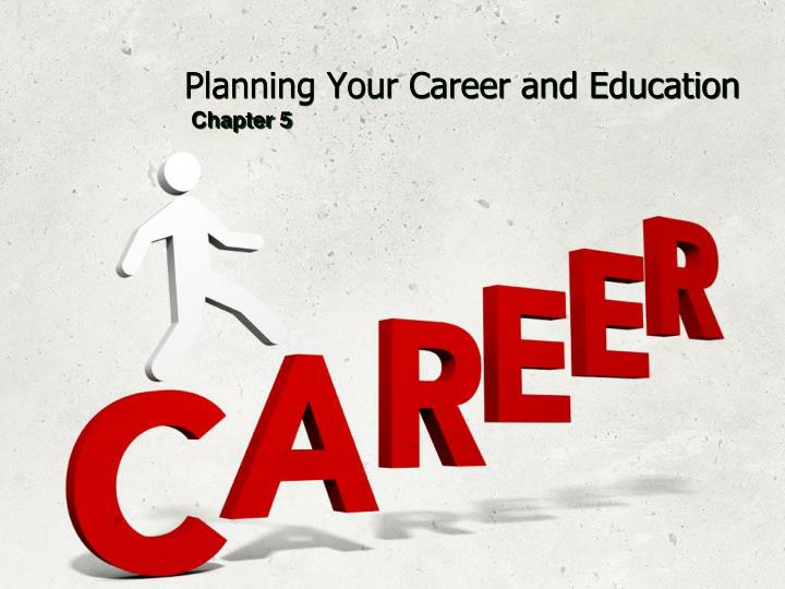 planning your career and education n.