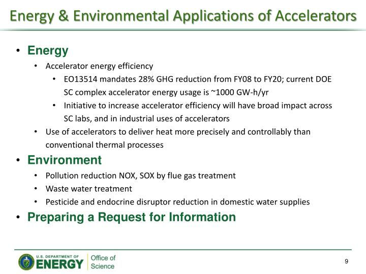 Energy & Environmental Applications of