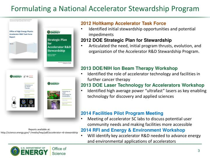 Formulating a National Accelerator Stewardship Program