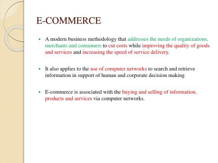 E commerce1