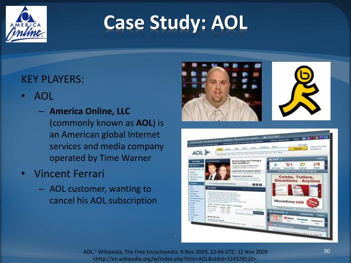 Case Study: AOL