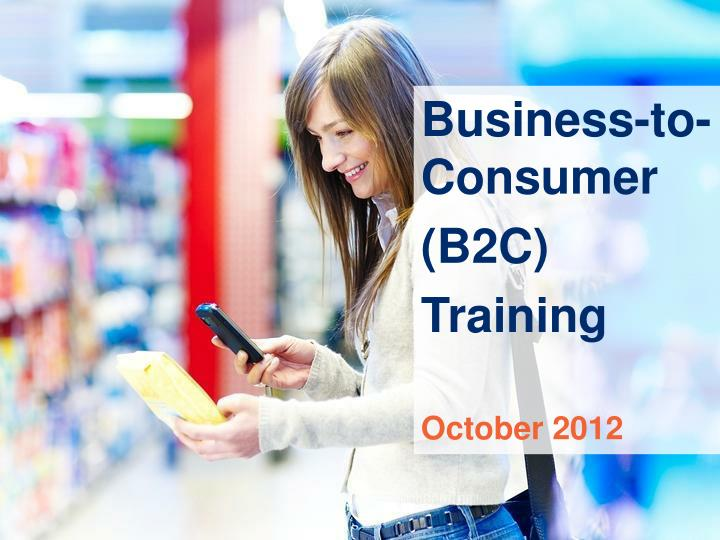 an introduction to business to consumer websites Business-to-business transactions are common in a typical supply chain, as companies purchase components and products such as other raw materials for use in the manufacturing processes finished products can then be sold to individuals via business-to-consumer transactions.