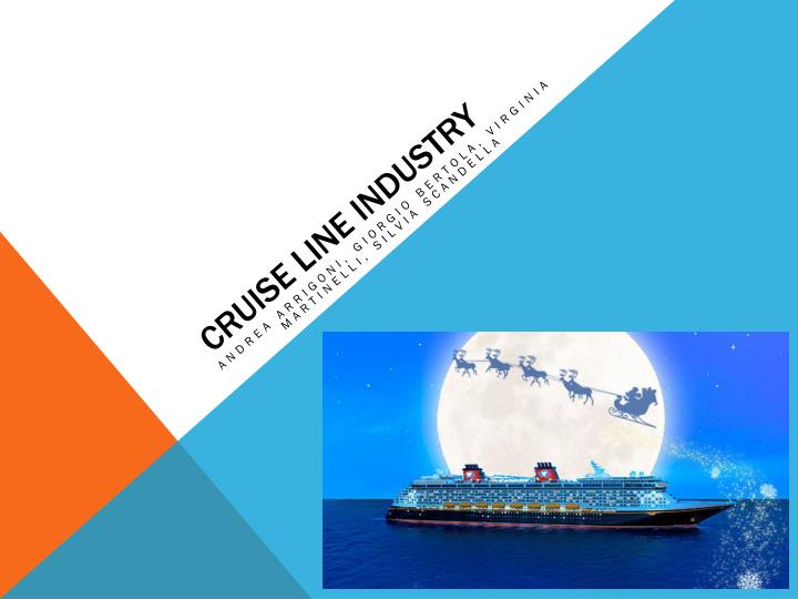 cruise line industry