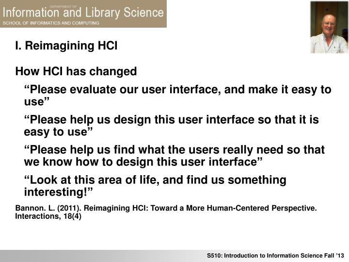 I reimagining hci1