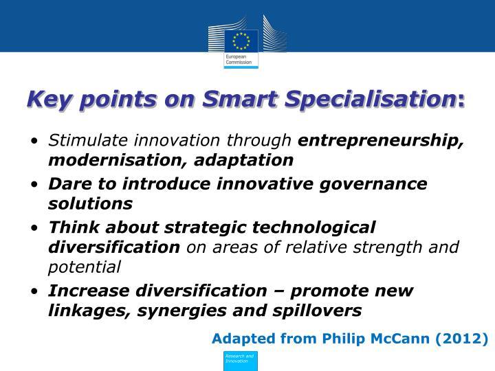 Key points on Smart