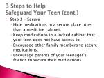 3 steps to help safeguard your teen cont