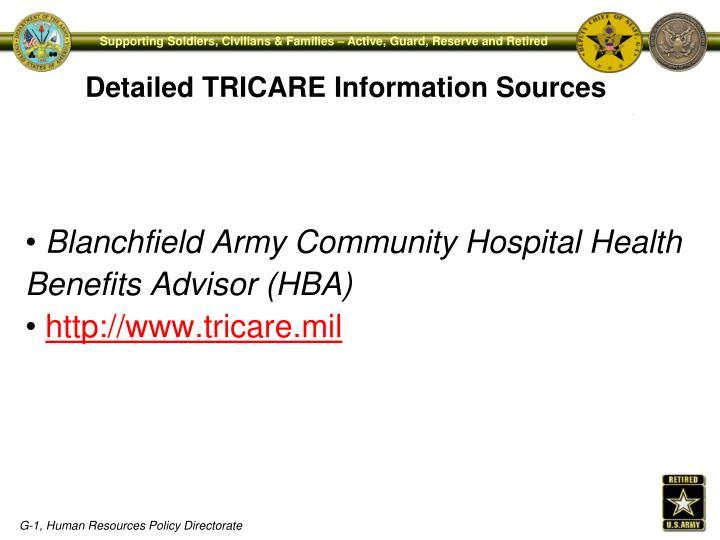 Blanchfield Army Community Hospital Health