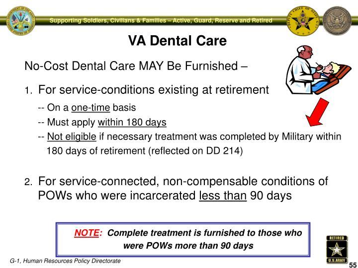VA Dental Care