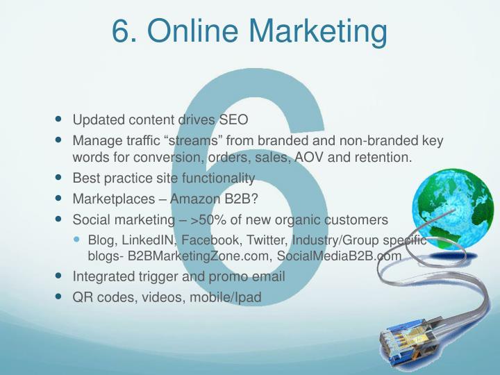 6. Online Marketing