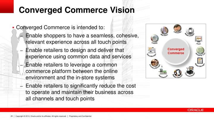 Converged Commerce is intended to: