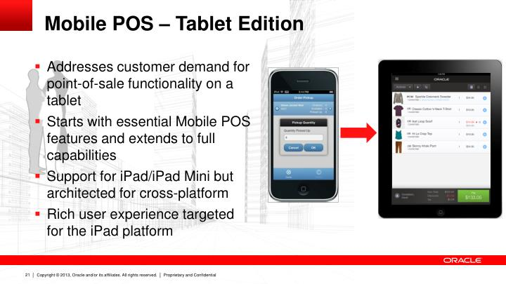 Mobile POS – Tablet Edition