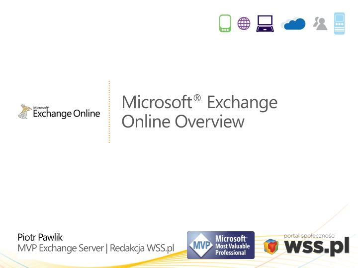 microsoft exchange online overview n.