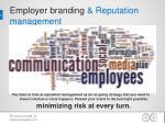 e mployer branding reputation management