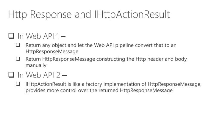 Http Response and