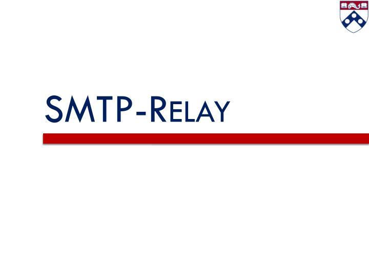 SMTP-Relay
