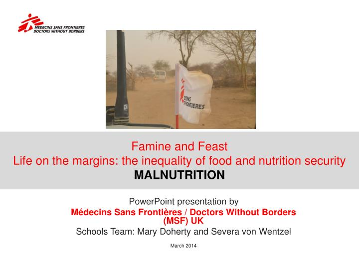 famine and feast life on the margins the inequality of food and nutrition security malnutrition n.