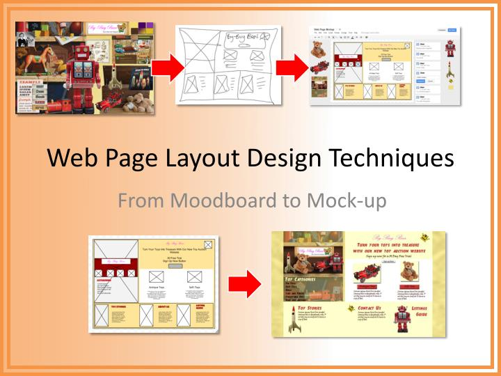 Ppt Web Page Layout Design Techniques Powerpoint Presentation Free Download Id 1690743