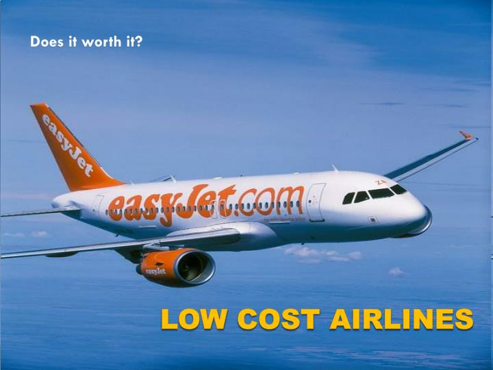 Ppt low cost airlines powerpoint presentation id1690761 does it worth it toneelgroepblik Gallery