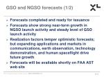 gso and ngso forecasts 1 2