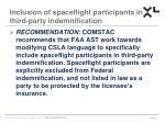 inclusion of spaceflight participants in third party indemnification