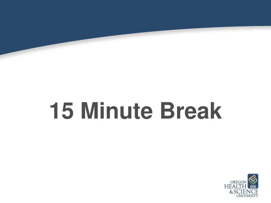 ppt - 15 minute break powerpoint presentation