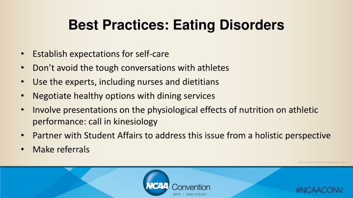 Best Practices: Eating