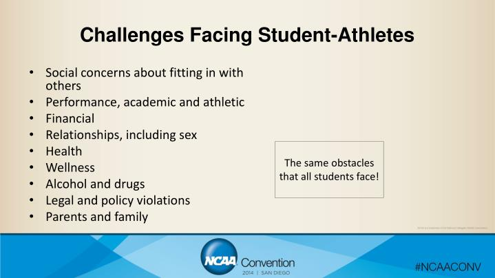 Challenges Facing Student-Athletes
