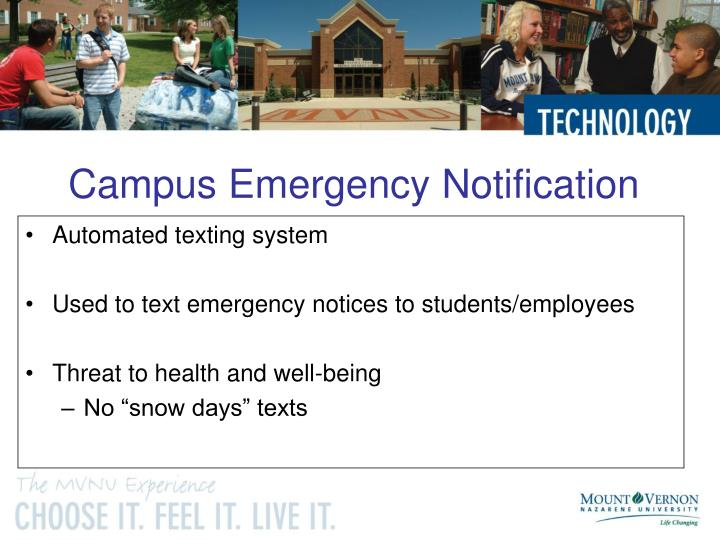 Campus Emergency Notification