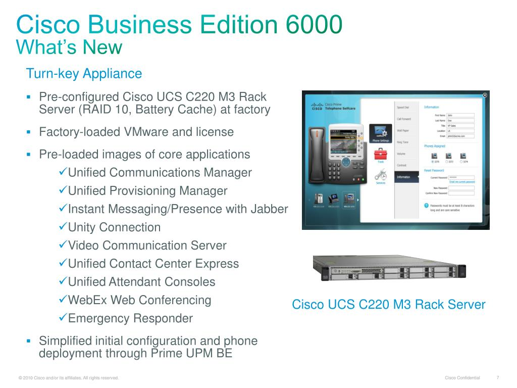 PPT - Cisco Business Edition 6000 9 0 PowerPoint