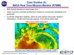 case studies 4 nasa real time mission monitor rtmm