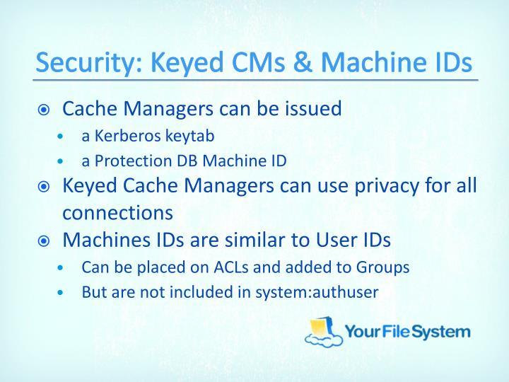 Security: