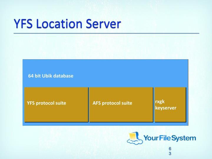 YFS Location Server
