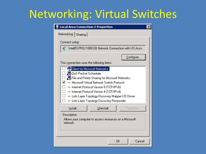 Networking: Virtual Switches