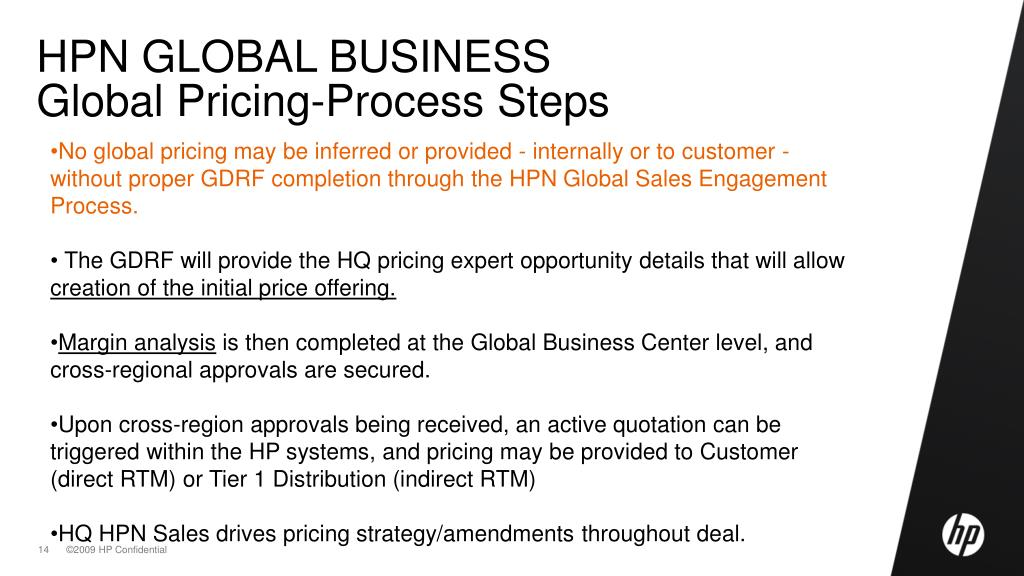PPT - HP NETWORKING Global Business PowerPoint Presentation