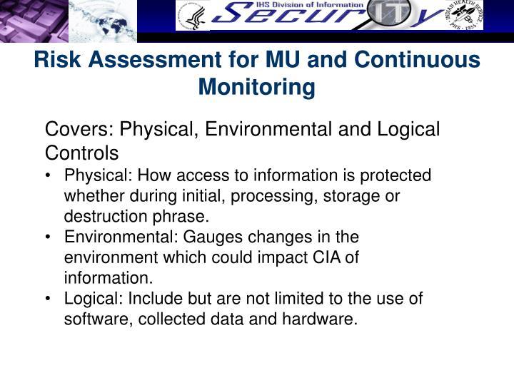 Risk Assessment for