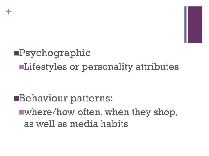 Psychographic