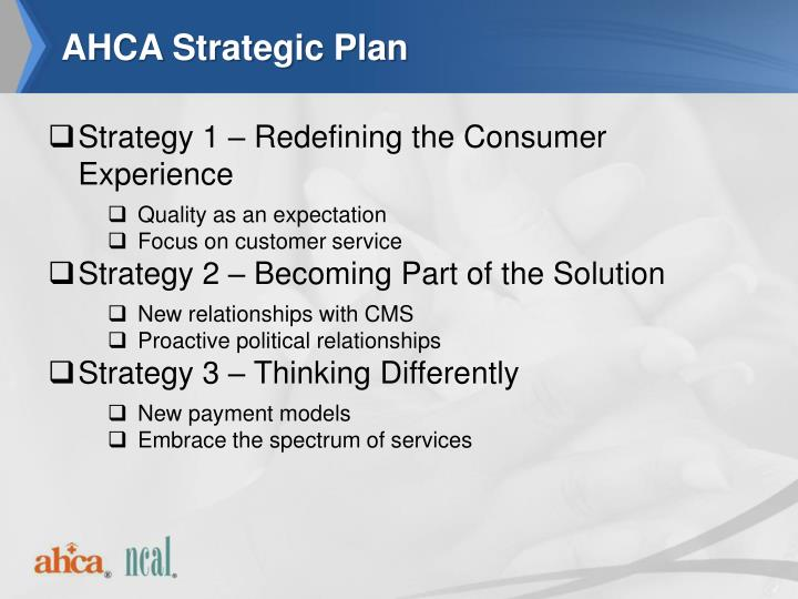 AHCA Strategic Plan