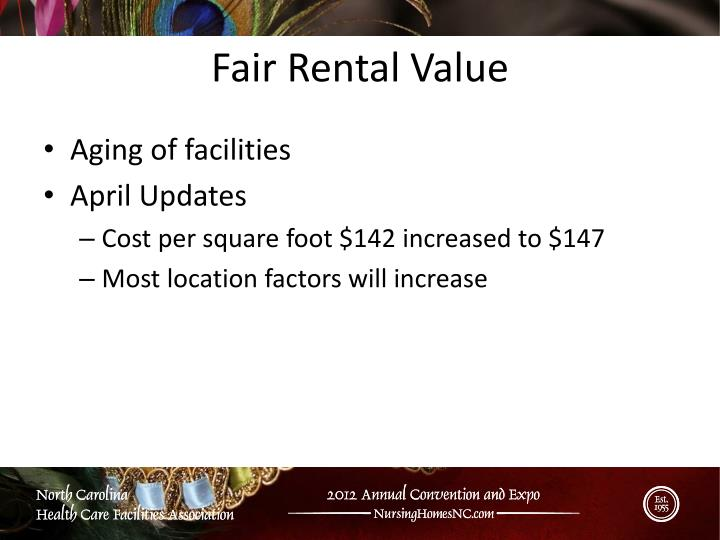 Fair Rental Value