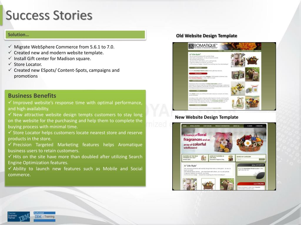 PPT - Royal Cyber Websphere Commerce Services PowerPoint